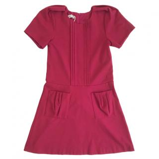 Christian Dior Girl's Fushia Dress