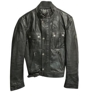 Belstaff Men's Leather Biker Jacket