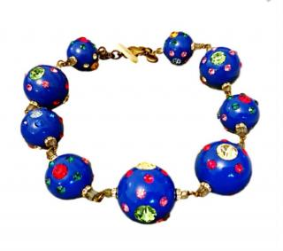 Sveva Milan Folkart Oversized Necklace