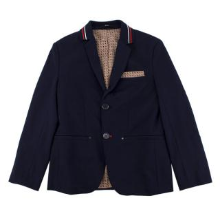 Boss Hugo Boss Boy's Navy Blazer