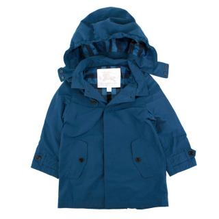 Burberry children's age 3 blue trench coat