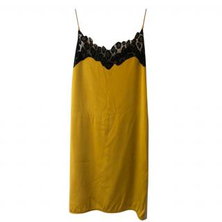 Versace Colour Block Shift Dress