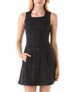 Theyskens' Theory Tweed Striped Lined Dress