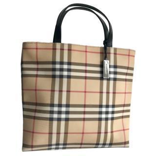 Burberry Nova Check Shopper bag