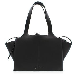 Celine Black Trifold Small Shoulder Bag