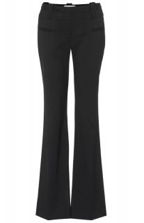 Altuzarra Serge Bootcut Black Fine Wool Trousers