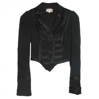 Temperley London military inspired tuxedo jacket