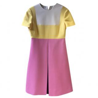 Valentino new pink wool dress
