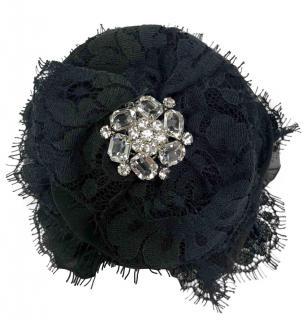 Dolce & Gabbana Sicily Lace & Crystal Hair Clip