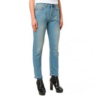 Saint Laurent light wash jeans