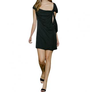 Diane von Furstenberg black Pitti jersey dress