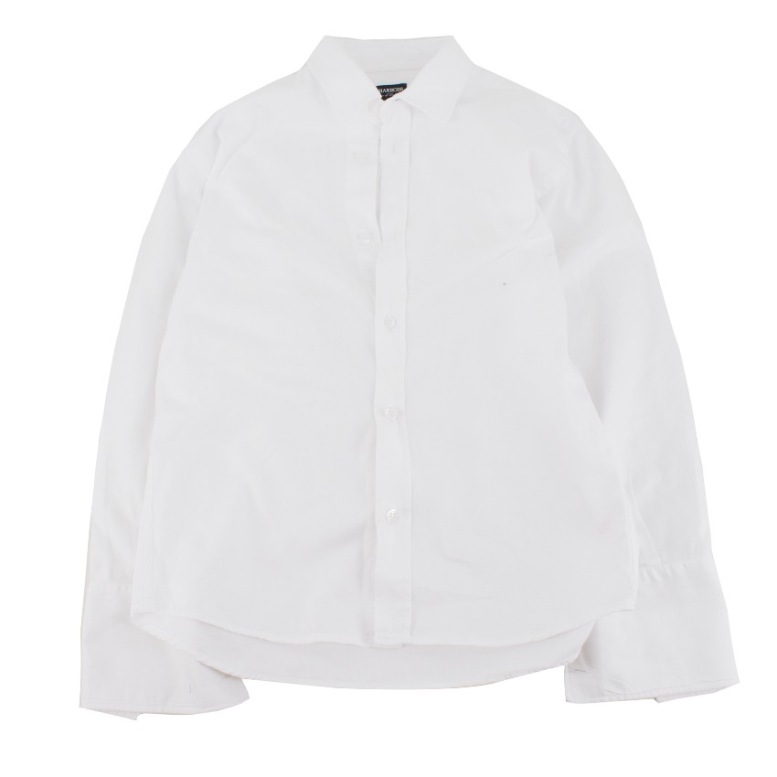 Harrods of London boys age 8 cotton-drill shirt