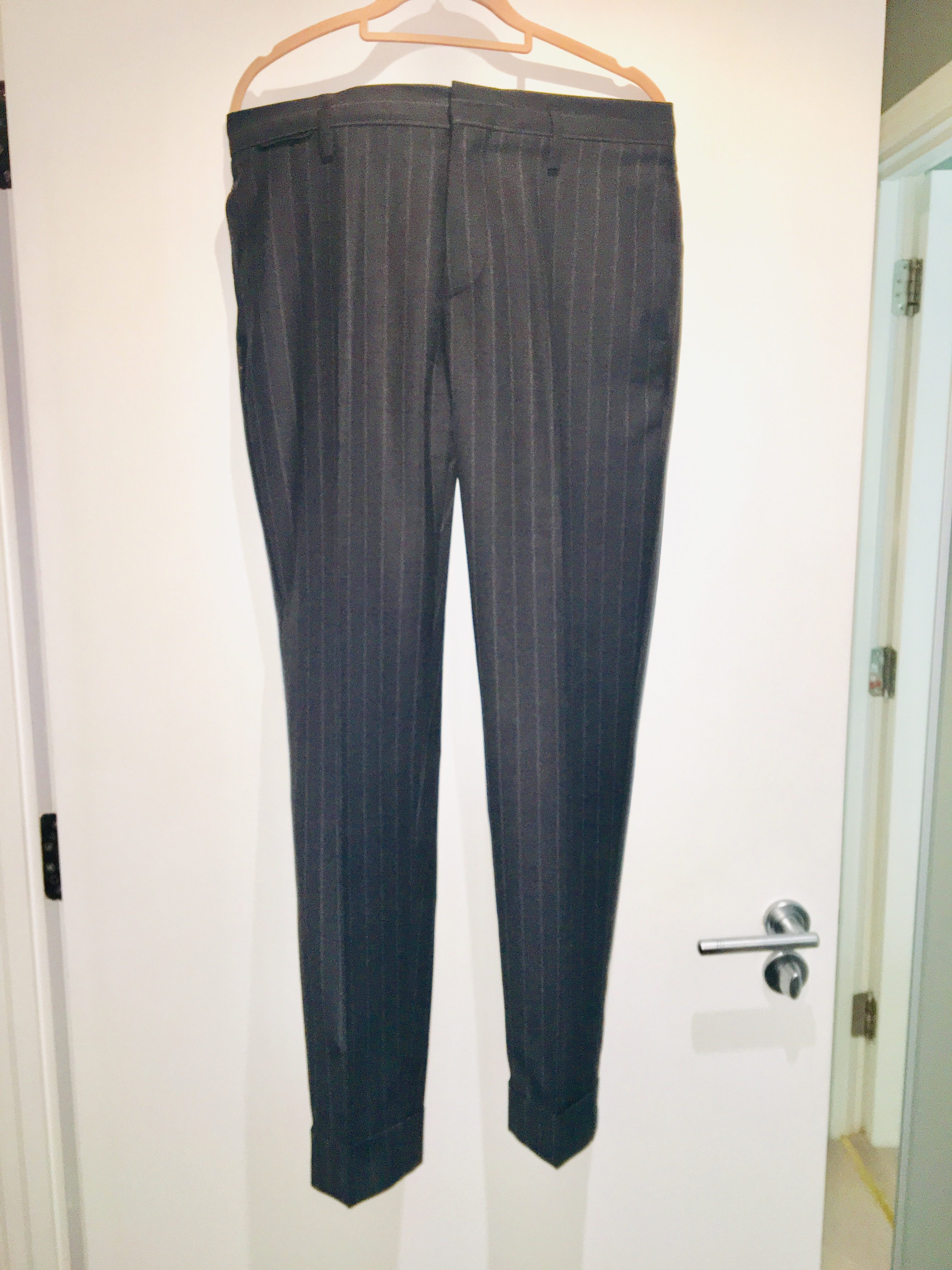 Marc Jacobs Pin Stripe Trousers