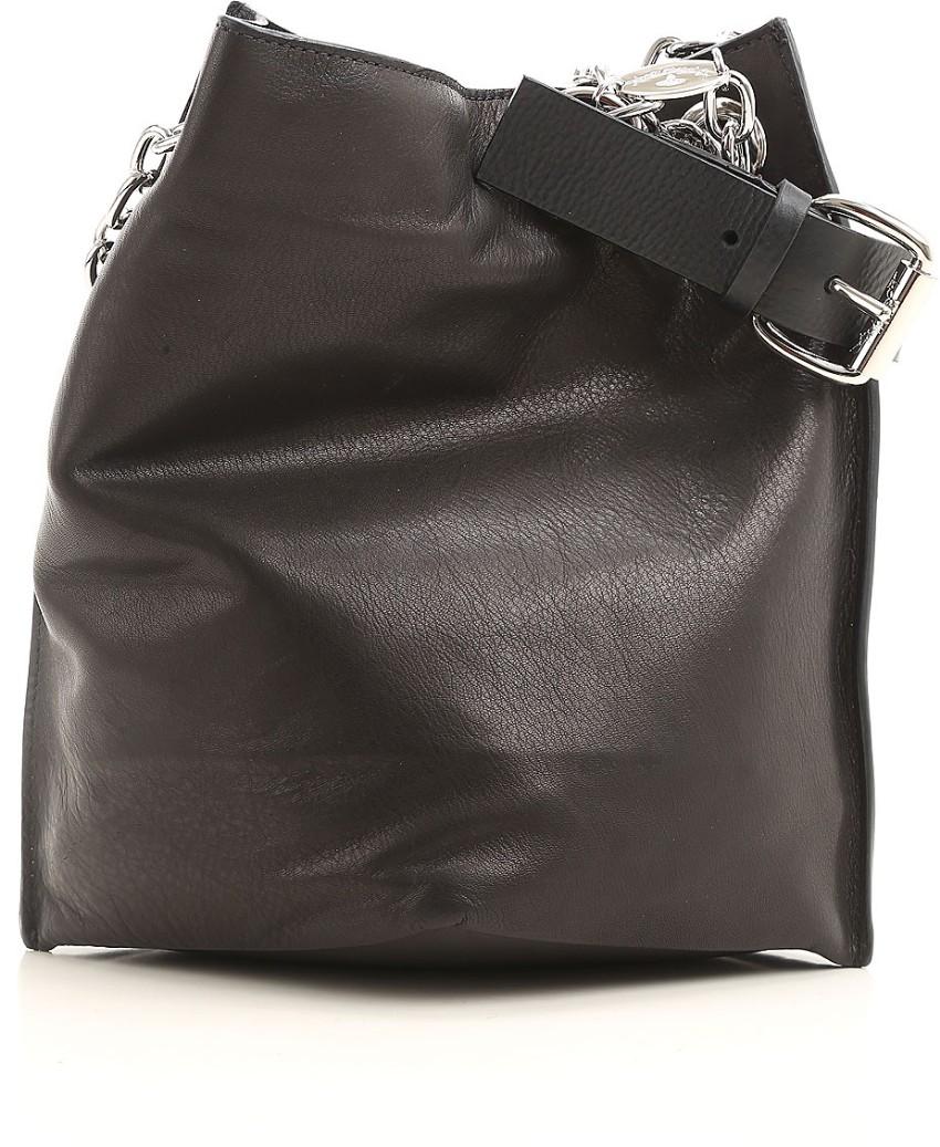 5b25898ea6 Vivienne Westwood Anglomania Black Leather Handbag | HEWI London