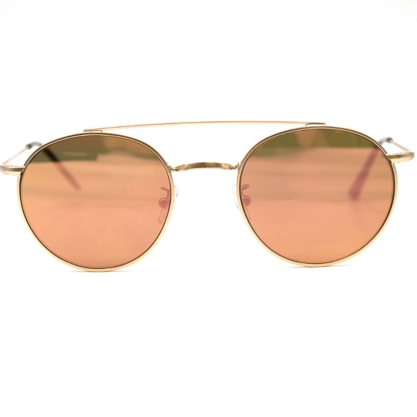 Vionnet Rose Gold Aviator Sunglasses