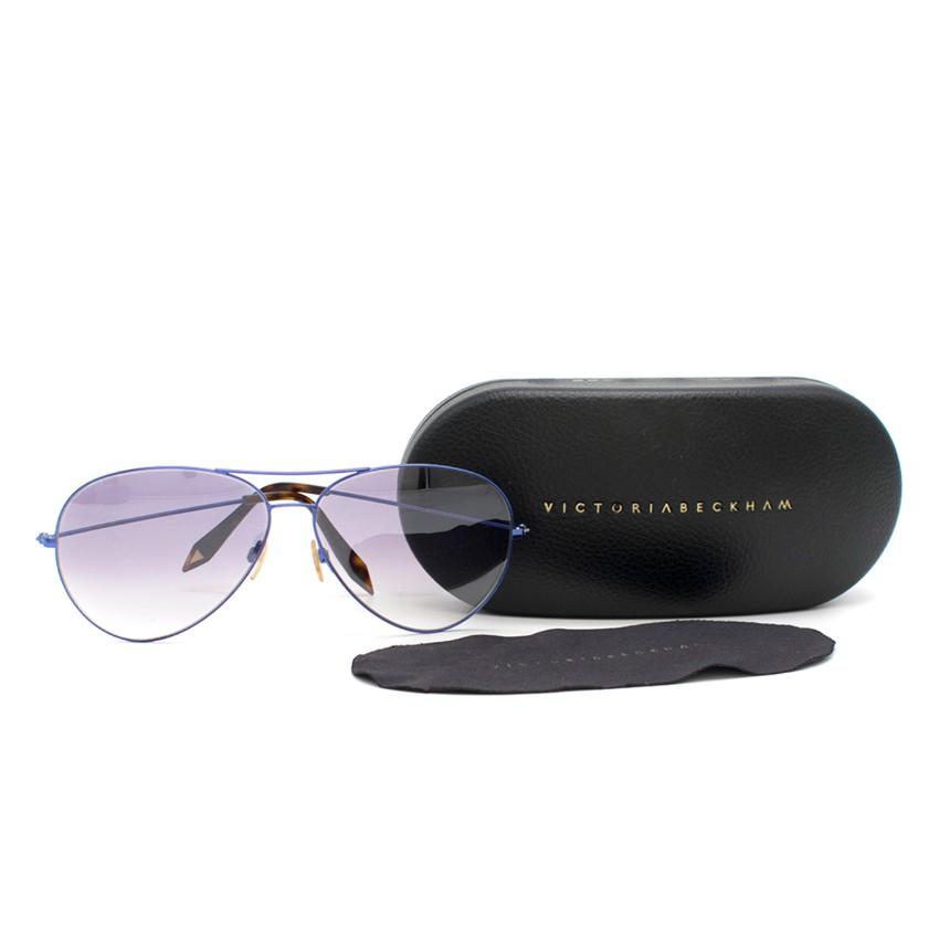 bff3a917e6b8 Victoria Beckham Aviator Sunglasses 3 | HEWI London