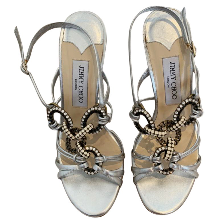 Jimmy Choo Embellished Sandals