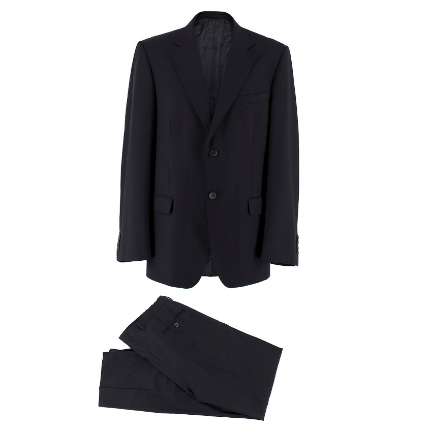 05e07cd312 Gucci single-breasted black wool suit