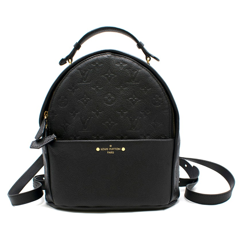 Louis Vuitton Empreinte Sorbonne black leather backpack - Sold Out