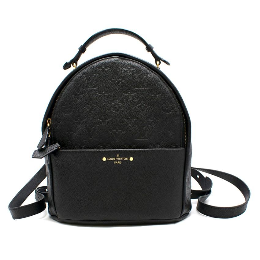 Louis Vuitton Empreinte Sorbonne black leather backpack - Sold Out