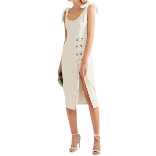 Rebecca Vallance Breakers Laced Split Dress