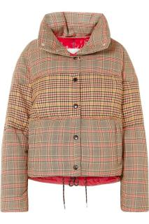 Moncler Donna Wool blend check jacket
