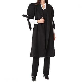 Paper London Black Wool Coat