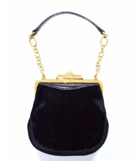 Ralph Lauren Collection velvet evening bag