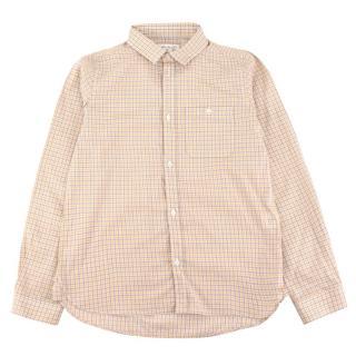 Marie Chantal White Check Shirt