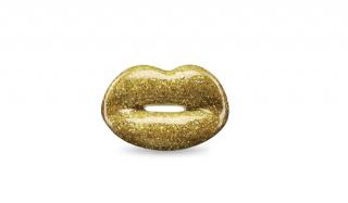 Solange Azagury-Partridge gold glitter ring
