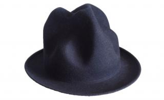 Vivienne Westwood World's End black felt hat