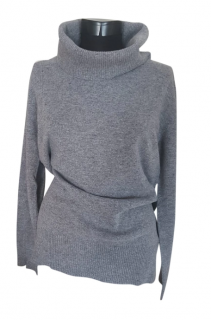 Max Mara roll neck jumper, Italian virgin wool