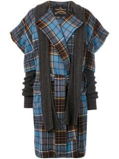 Vivienne Westwood Anglomania Dionysian tartan coat