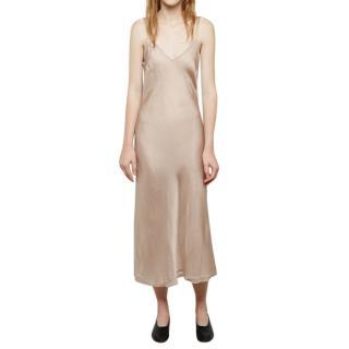 John Patrick Organic Bias Slip Dress