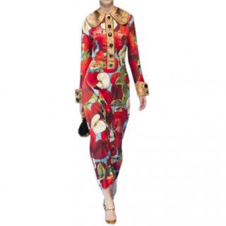 Dolce & Gabbana 'Forbidden Fruit' Catwalk Dress