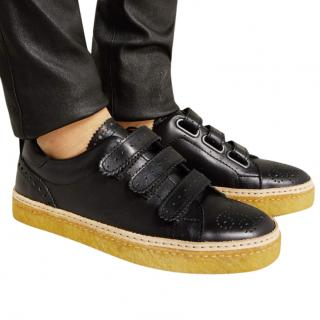 Weber Hodel Feder Sundance black leather sneakers