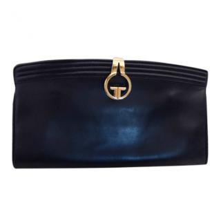 Gucci vintage black clutch