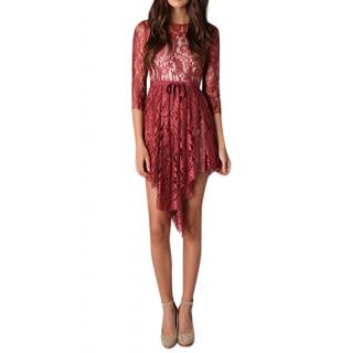 Lover Merlot Serpent Dress