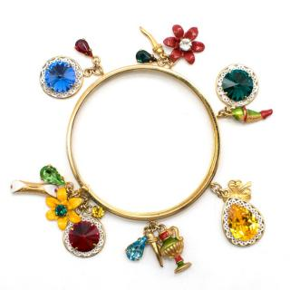 Dolce & Gabbana fruit-charm stacked bangle