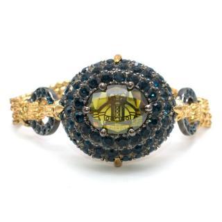 Vivienne Westwood crystal-encrusted orb bracelet