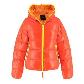 Duvetica Lightweight Red Puffer Jacket - New Season