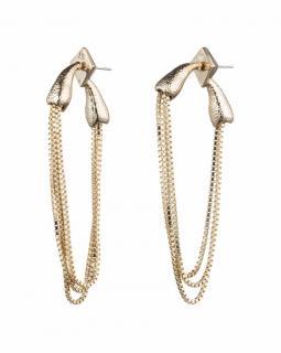 Alexis Bittar Chain Loop Earrings