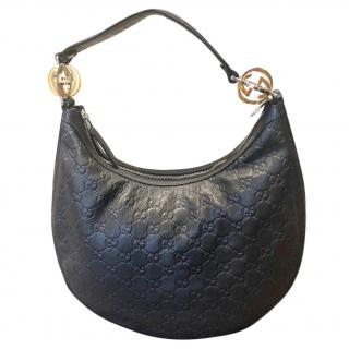 Gucci Twins Hobo Guccissima Leather shoulder bag