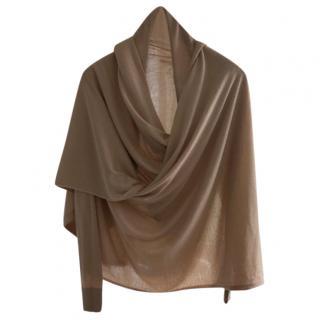 Donna Karan signature collection cashmere & silk wrap cardigan