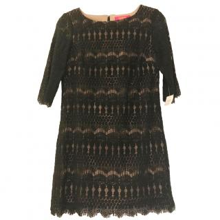 Catherine Malandrino Lace Black Dress