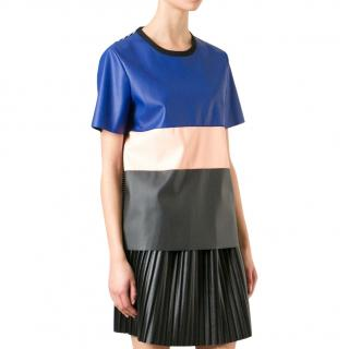 Cedric Charlier Colour Block Top