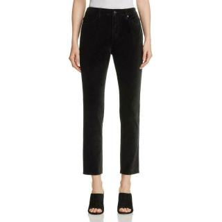 Kate Spade Velveteen Ankle Crop Trousers
