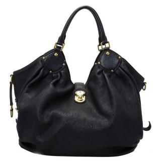 Louis Vuitton Black Mahina Leather L Bag