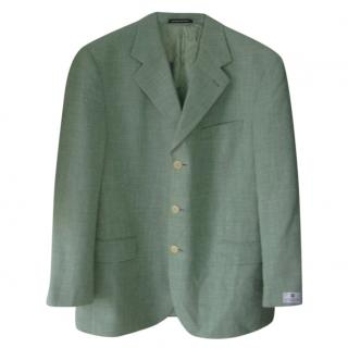 Givenchy Light Green Men's Blazer