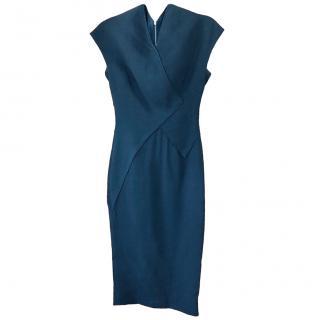 Victoria Beckham Black fitted dress